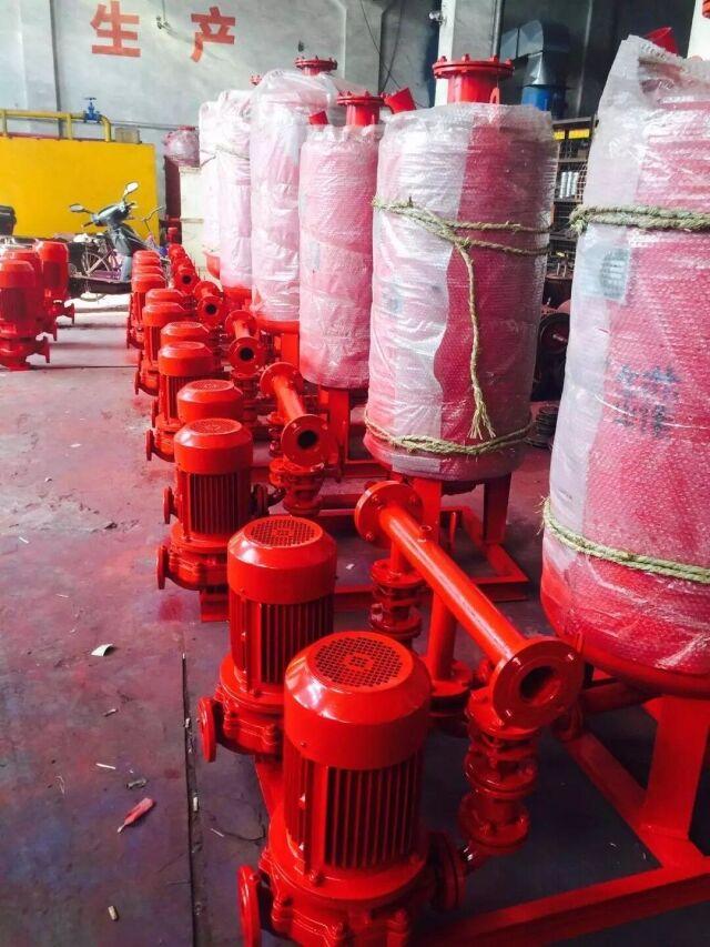 100扬程消防泵/90千瓦喷淋泵XBD4.0/25-100G*2江洋供应山东工程喷淋泵/安装消防泵流量调整
