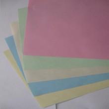 供应彩色双胶纸打印复印纸彩色便签纸手工折纸剪纸