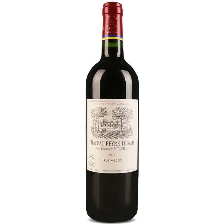 法国原瓶进口 波尔多产区AOC级|拉菲岩石古堡干红葡萄酒750ml 强烈推荐