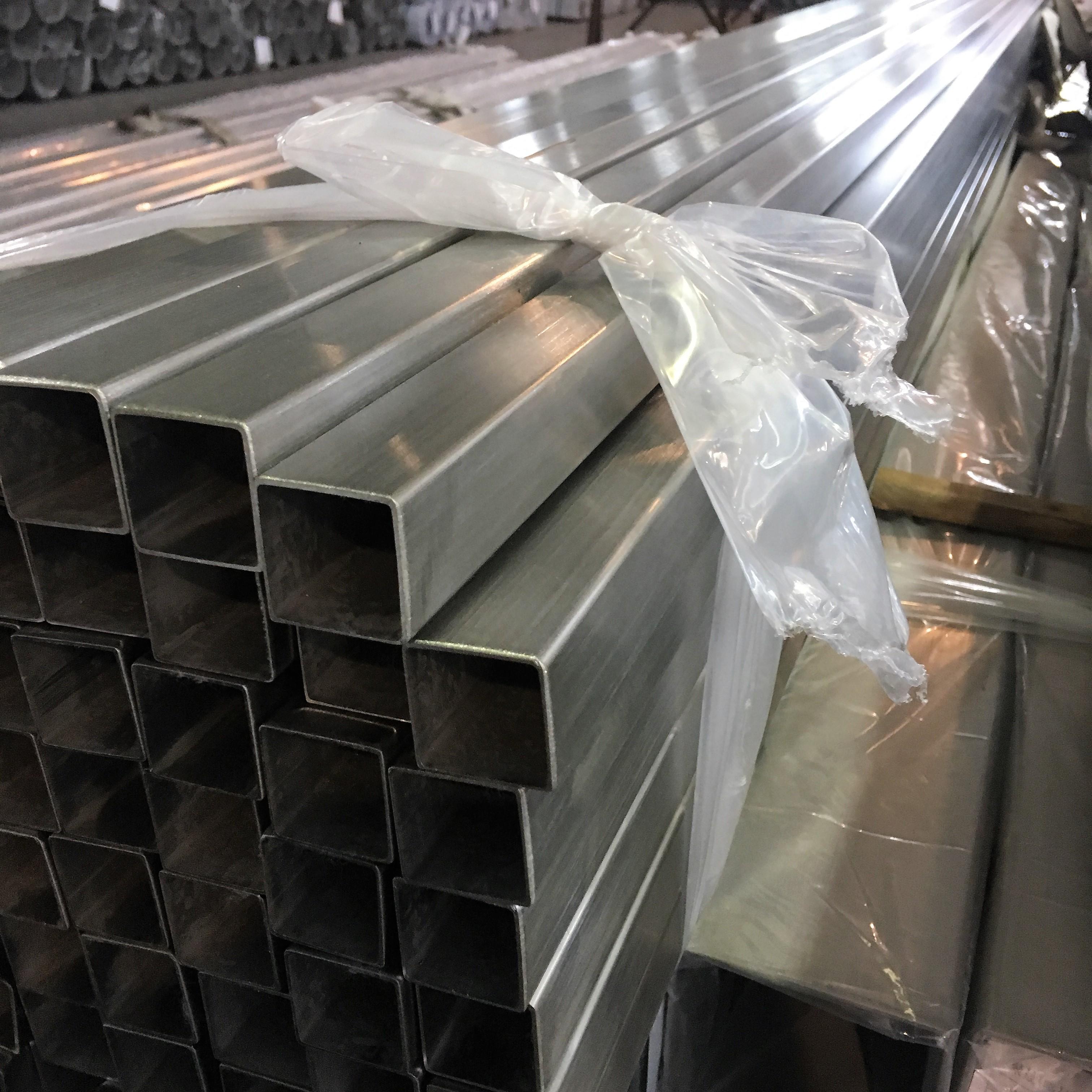 304 201不锈钢装饰管光亮管不锈钢无缝管方管镜面管切割加工
