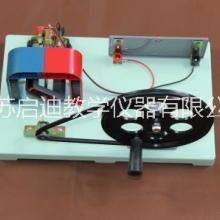 24019手摇交直流发电机教学用二极管LED灯手摇发电机构造原理实验仪器 江苏供应商批发