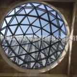 大型钢结构玻璃采光顶设计安装报价 万达球形屋面建造