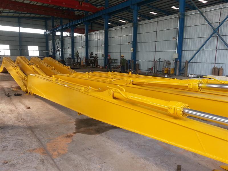 专业改装13米18米至32米钩机加长臂厂家 加长臂改装厂 挖机加长臂、大型加长臂改装厂家 挖掘机加长臂