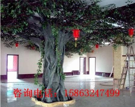 供应室内假树 室内仿真树