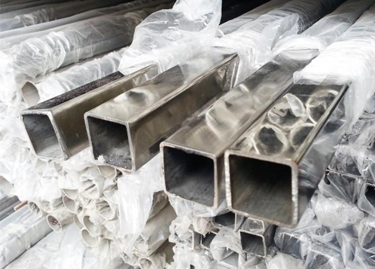 厂家供应无钢印304不锈钢方管100*100规格制品管可定制尺寸