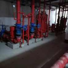 120米高扬程消防泵XBD6.0/25-100G*3供应广东消防泵可以开供货证明/泵房安装变径口径喷淋泵