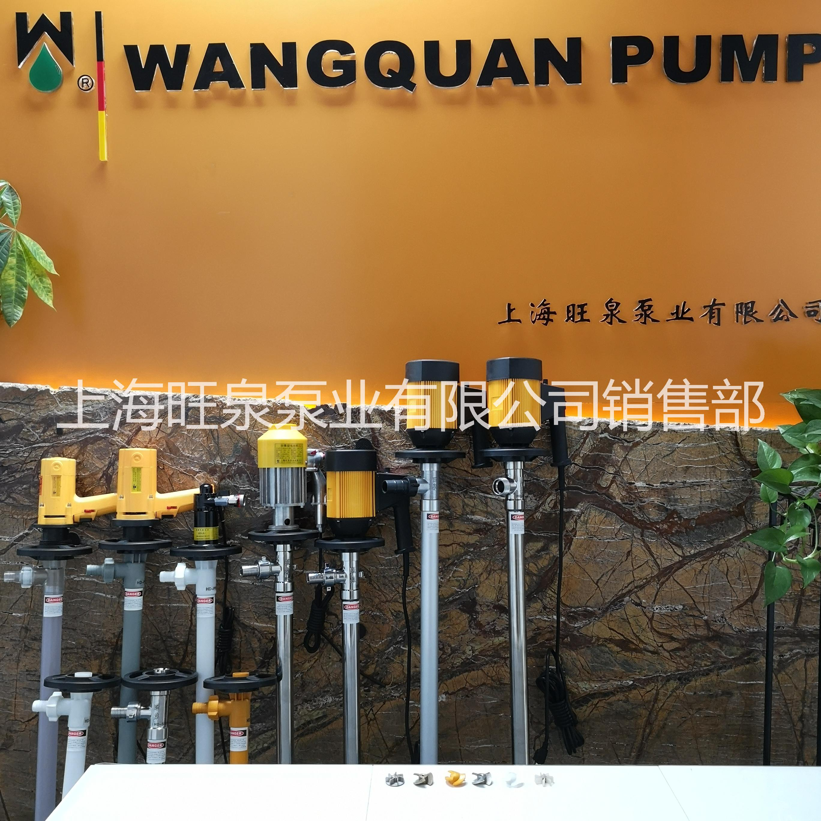 上海旺泉电动抽液泵、油桶泵