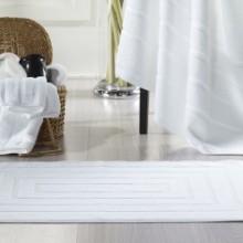 酒店宾馆专用地巾提标地巾白度纯棉股纱类地巾批发