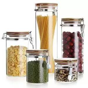 玻璃密封罐 高硼硅玻璃密封罐