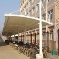 江西膜结构电动车雨棚 宜春推拉棚 吉安膜结构自行车棚厂家