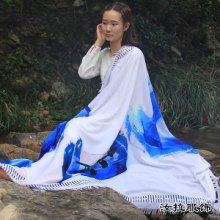 围巾生产商,源头工厂加工定制仿羊绒,真丝围巾,20年行业经验图片