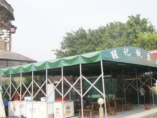 浙江活动推拉棚 建德膜结构停车棚 桐乡彩钢大棚、阳光板价格
