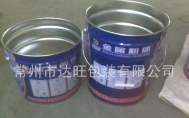 厂家直销供应高品质防水涂料马口铁包装桶 铁桶涂料桶油漆桶