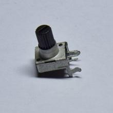 厂家生产0塑胶柄单联直脚音响电位器 B50K碳膜电位器 可调电阻  091塑胶柄单联直脚音响电位器 091塑胶柄单联 0