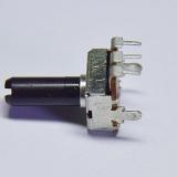 厂家生产12mm塑胶柄单联弯脚电位器 12方形B10K电位器