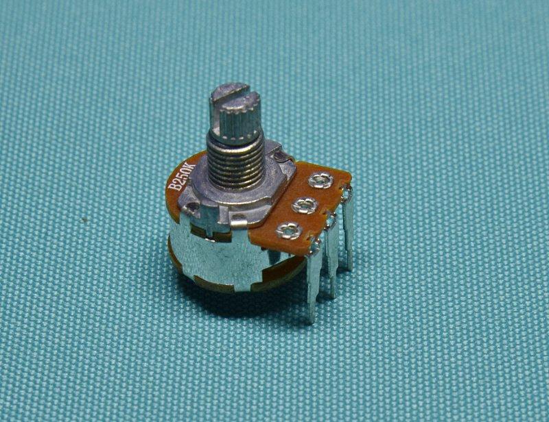 东莞厂家生产WH148金属柄弯脚单联电位器 B50K B10K功放电位器