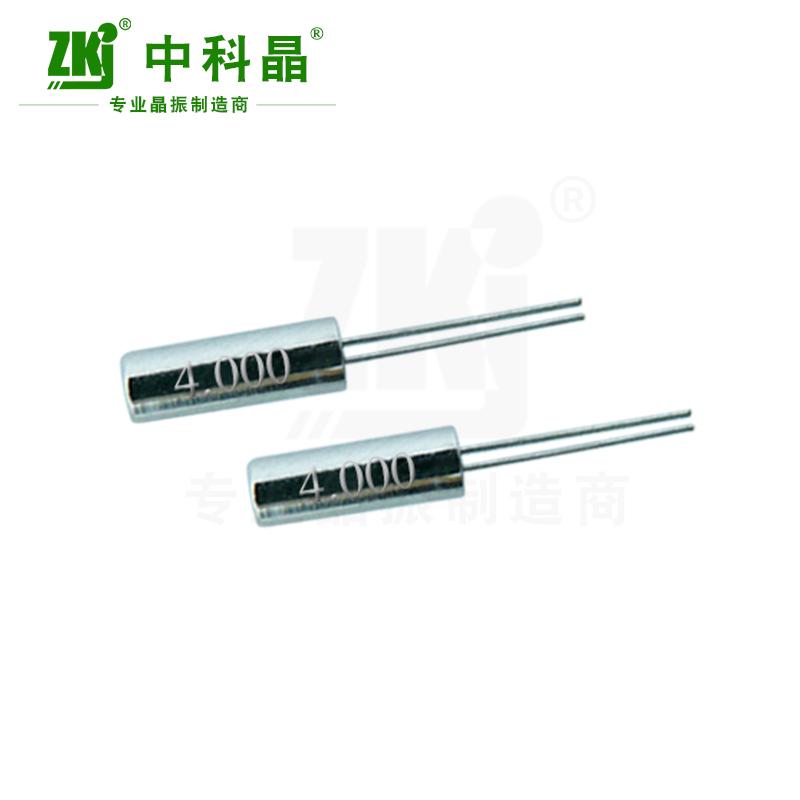 中科晶工厂供应圆柱晶振3x8 308 4MHz谐振器 工厂供应现货
