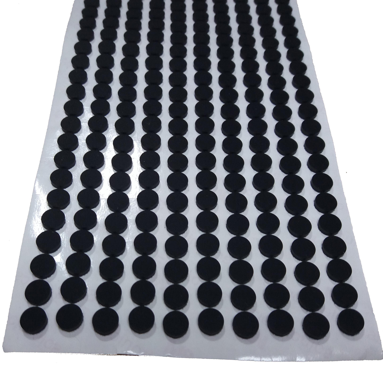 黑色硅胶垫电子电器防滑脚垫家具家私防撞胶垫陶瓷饰品胶垫胶粒脚垫 厂家直销