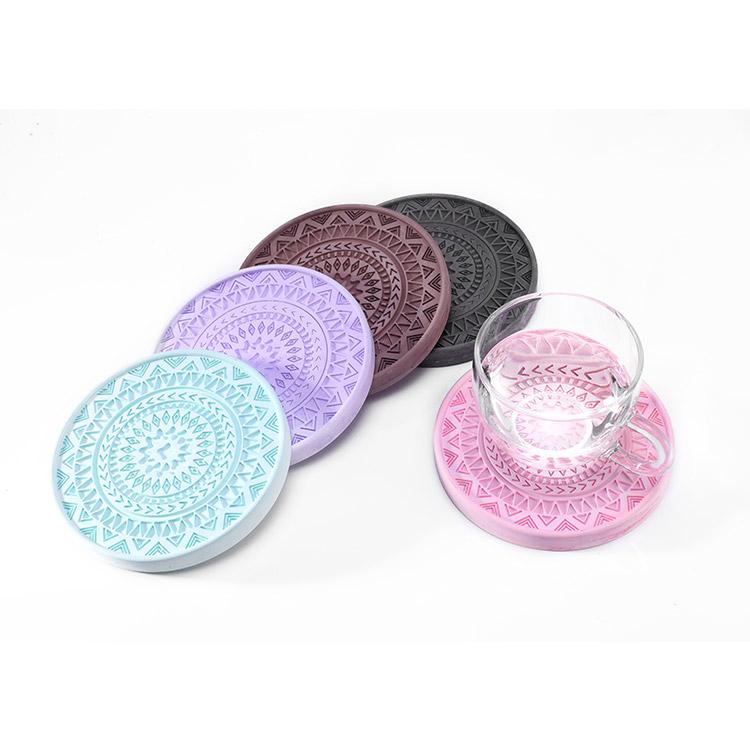 硅藻土杯垫 吸水防 硅藻土杯垫吸水可定制 硅藻土杯垫吸水吸水防滑抑菌可定制