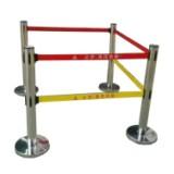 不锈钢带式伸缩围栏5米双带带式伸缩围栏