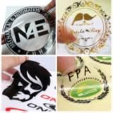 厂家专业 定做PVC透明不干胶 透明PVC标签印刷 定制透明logo贴纸