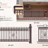 西安铸铝围栏 碑林窗棚 灞桥车棚报价