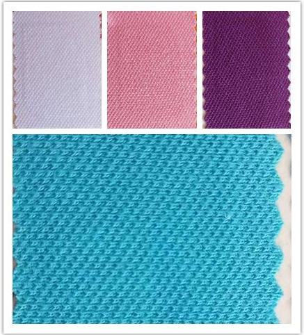 厂家直销  现货供应 210g针织服装用布   21支棉单纱单珠地