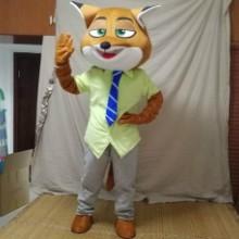 科尼卡通人偶服装动物城狐狸兔子