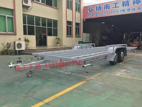 4吨骨架式拖车底盘,全挂型