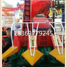 玉米收割机大型拖拉机带联合玉米收获机图片
