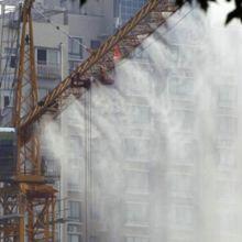 工地塔吊喷淋除尘降尘系统的安装说明