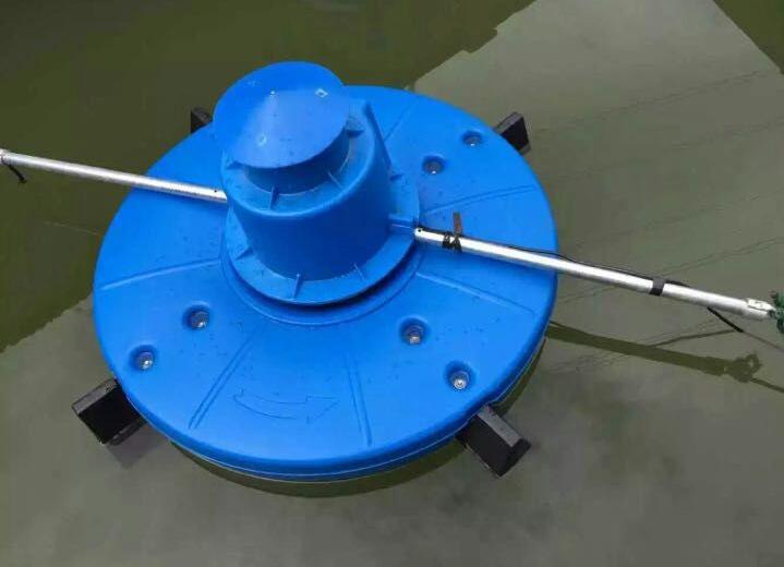 单相0.75KW虾塘蟹塘水库鱼塘推浪式增氧泵涌浪式增氧机-07