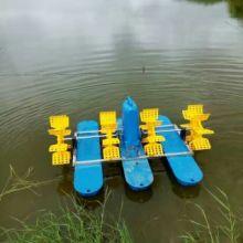厂家直销鱼塘渔业水产养殖220V380V水车式增氧机水车增氧机-04