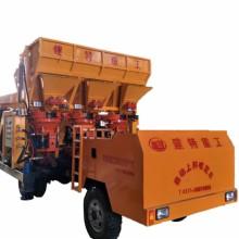 郑州建特丶自动混凝土喷浆车_自动上料喷浆机-混凝土喷浆机图片