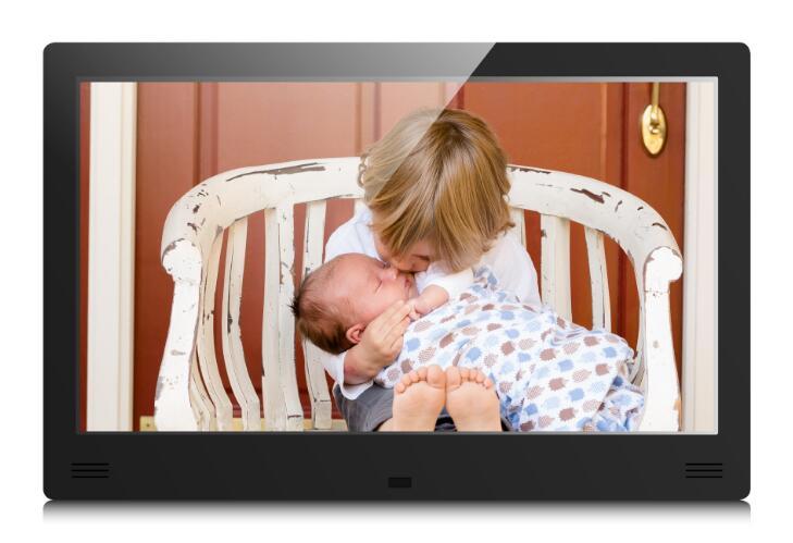 新款11.6寸IPS屏高清广 告 机 壁挂式广 告机 展柜广 告 机 前置喇叭 IPS屏高清数码相框炫菱品牌厂家直销