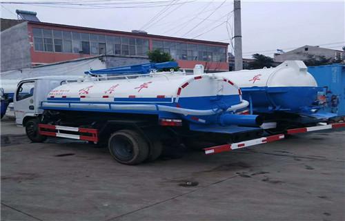 黑龙江哈尔滨东风4吨吸污车生产厂销售