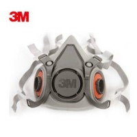 3M6200防毒防尘半面具