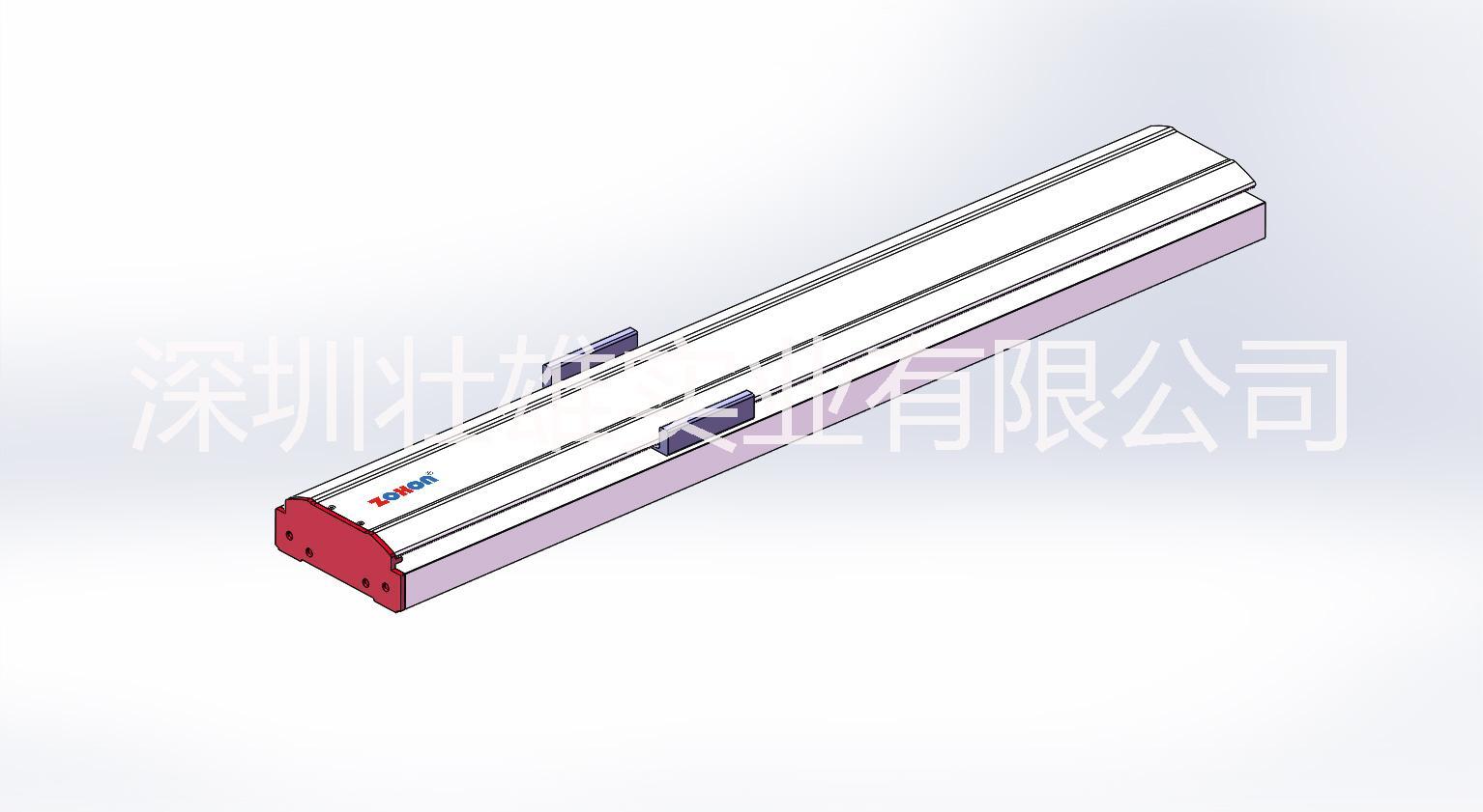 广东模组订制 模组底座线性模组滑槽铝型材 直线滑台导轨铝型材 广东铝材批发  同步带半封闭式模组型材