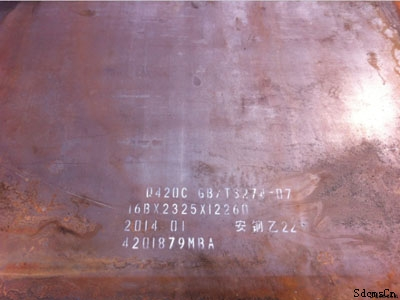 高强板生产厂家 河南济钢Q550D钢板 高强板价格