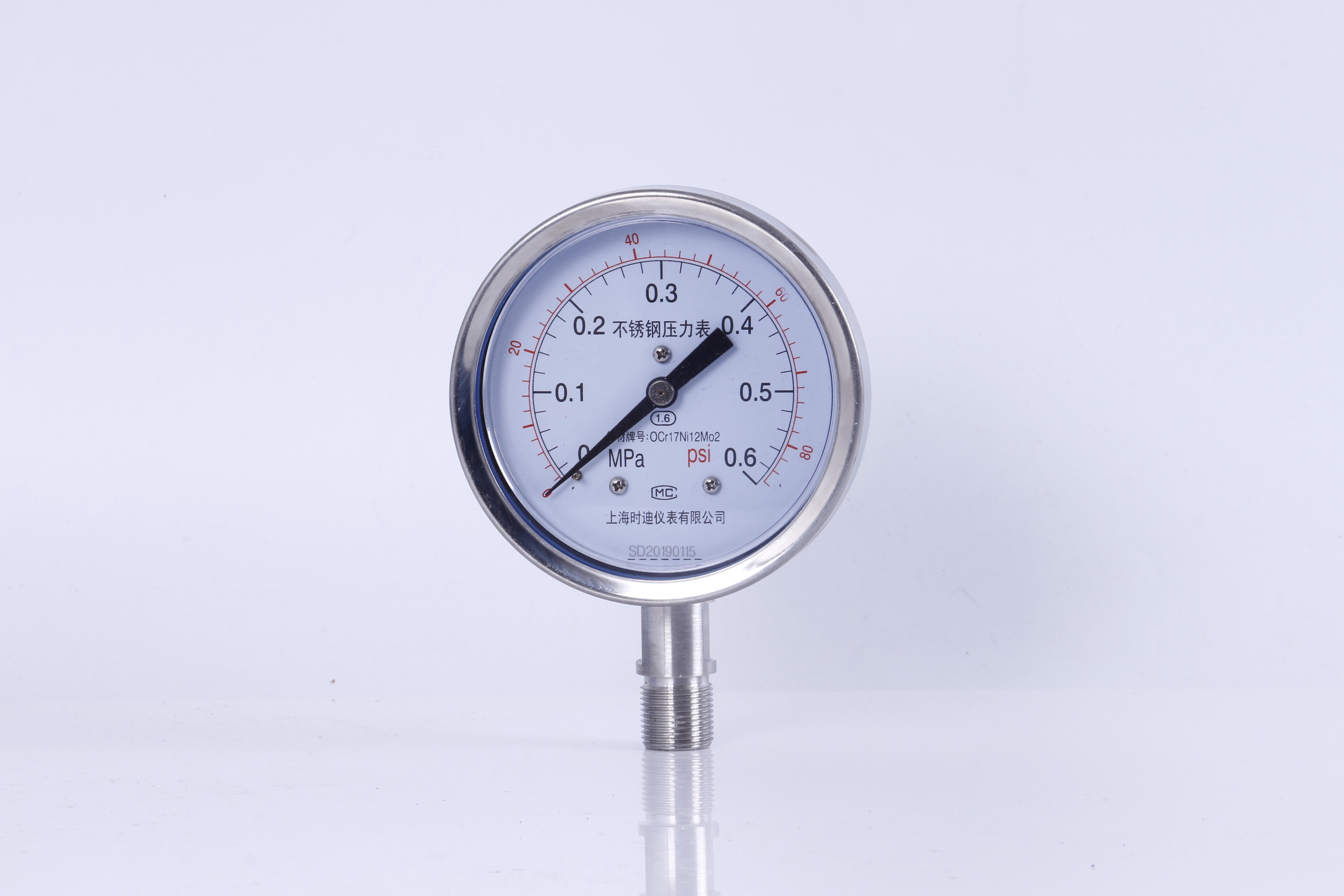 不锈钢压力表,耐震压力表,不锈钢真空压力表,油浸压力表,隔膜压力表,