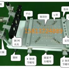 台式丝印刷台SMT手动精密红胶锡 台式丝印刷台SMT手动精密印刷台图片
