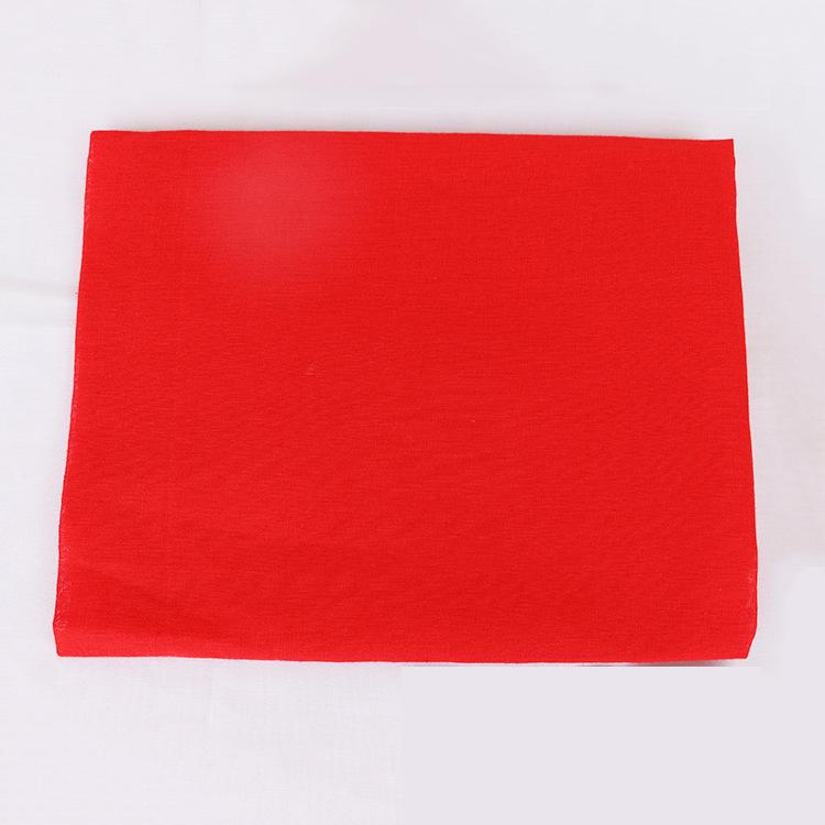 厂家直销红棉布红领巾布