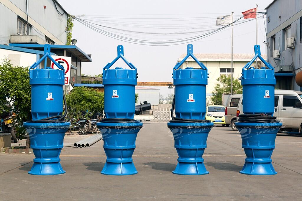 井筒式潜水轴流泵厂家 QZB潜水轴流泵