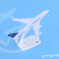 可定制商务礼品收藏静态摆件航模波音B747-400印尼合金飞机模型