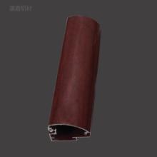 厂家定制瀛鑫2.5分仿木纹超薄灯箱铝型材 相框画框海报夹铝合金广告边框型材