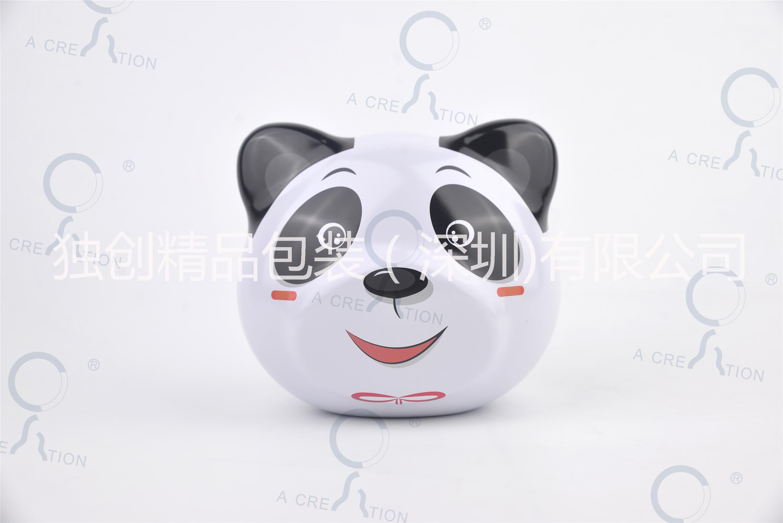 供应生肖铁盒 熊猫铁罐 巧克力盒
