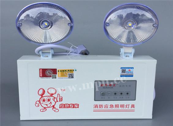 供应新国标LED高亮应急照明故障报警,供应敏华电工1100升级版,2019新国标双头灯3001