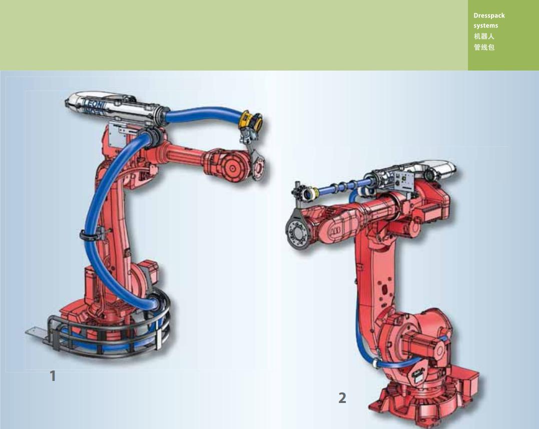 莱尼LEONI 机器人管线包 机器人管线包DPS0002 机器人管线包DPS0002