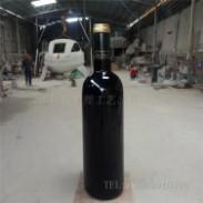 新品仿真红酒瓶雕塑图片