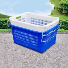 广东省广州市番禺区塑料运输萝 2号胶筐批发 运输筐、镂空水果筐报价批发